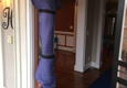 Carolina Moving Solutions - Lamar, SC. Door jam protection/rug runner protector