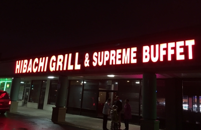 Hibachi Grill and Supreme Buffet - South Plainfield, NJ. Only if you want to get sick. Roach infestation.