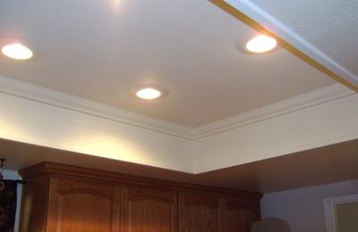 Narr's Electrical & Handyman Service - Riverside, CA. Recessed lighting & crown molding