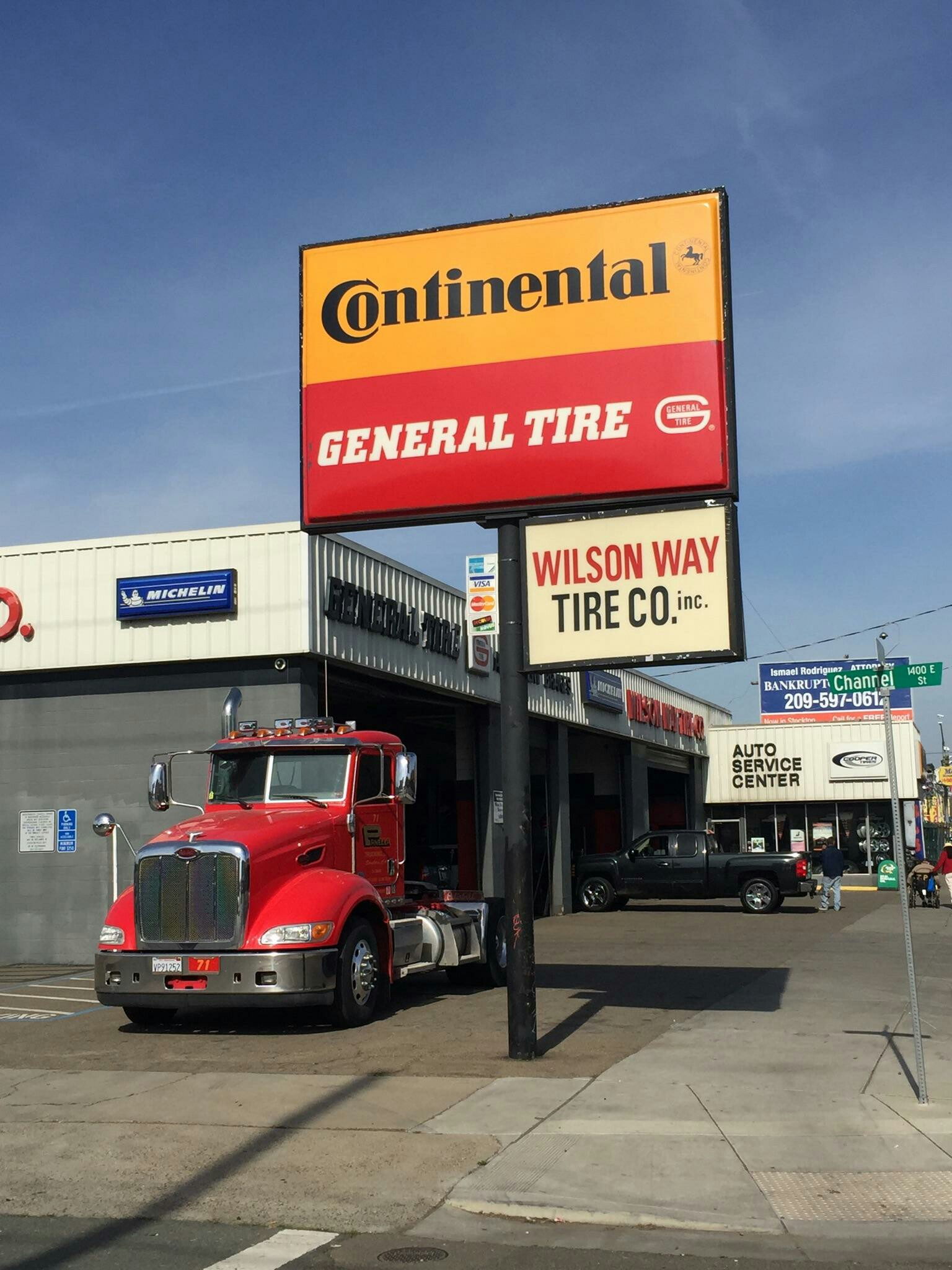 Wilson Way Tire U S Tire Sales 221 N Wilson Way Stockton CA