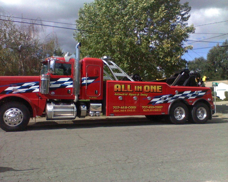 All In One Auto Repair Amp Towing 406 N State St Ukiah Ca