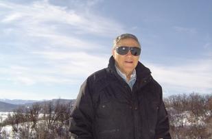 Tony on surveillance near Steamboat Springs
