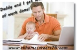 Dads can work from home too.