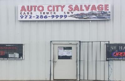 Auto City Dallas Tx >> Auto City Salvage 13815 Skyfrost Dr Dallas Tx 75253 Yp Com
