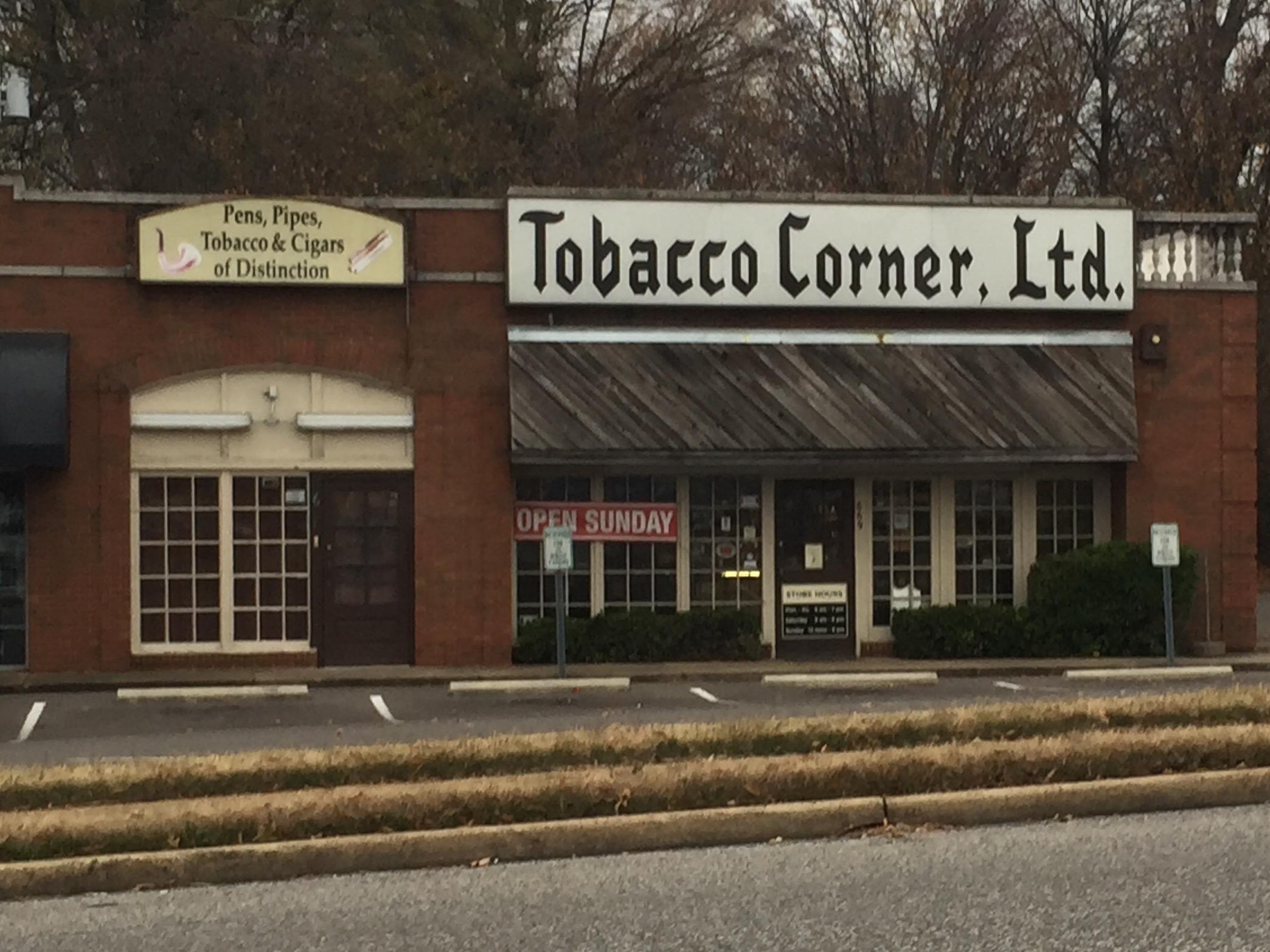 Tobacco Corner Ltd 669 S Mendenhall Rd Memphis Tn 38117