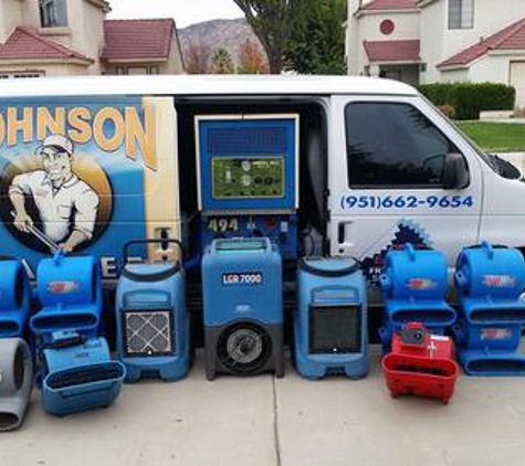 Johnson Carpet Cleaning Solutions and Water Damage Restoration - Moreno Valley, CA