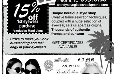 Wendy's Eyeglass Shack - Peoria, IL