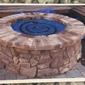Jones Masonry - San Jose, CA. Stone fire pit
