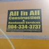 All in all Handyman and Construction Services