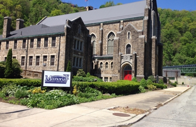 Memorial Baptist Church - Johnstown, PA. Memorial Baptist Church at the base of the inclined plane Johnstown Pennsylvania