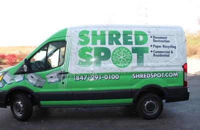 Shred Spot - Northbrook, IL. Shred Spot Van