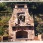Jones Masonry - San Jose, CA. Another outside fireplace