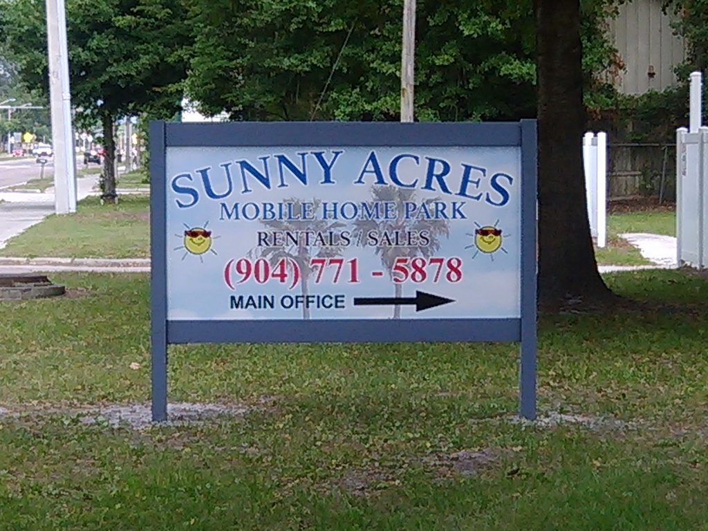 Sunny Acres Mobile Home Park Jacksonville FL 32210