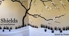 Patrick Shields Wallpaper & Mural Installations - Rixeyville, VA