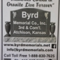 Byrd Memorial Co Inc - Atchison, KS