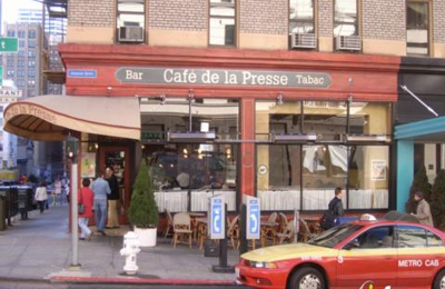 Cafe De La Presse - San Francisco, CA