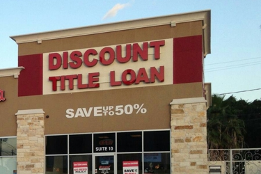 Discount Texas Car Title Loan