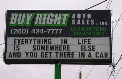 Buy Right Auto >> Buy Right Auto Sales Inc 2101 W Coliseum Blvd Fort Wayne