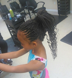 della's african hair braiding - copperas cove, TX. Perfect for my lil gymnast!