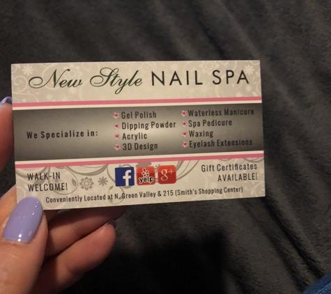 New Style Nail Spa - Henderson, NV