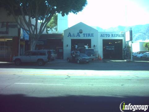 a a tire auto repair 2307 e colorado blvd pasadena ca 91107