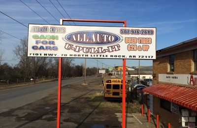 U Pull It Little Rock Ar >> Auto U Pull It 7101 Highway 70 North Little Rock Ar 72117