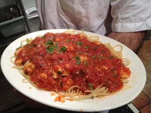 Dominick's Restaurant Pasta Dish