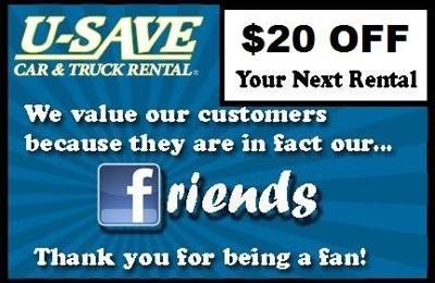 U Save Auto Rental >> U Save Car Truck Rental Of Auburn 1203 Opelika Rd Auburn