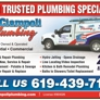 John Ciampoli Plumbing - Spring Valley, CA