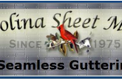 Carolina Sheet Metal Seamless Guttering - Hayesville, NC