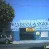 Sandoval & Sign