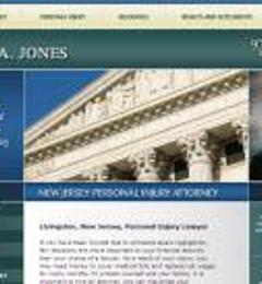 Law Offices of Robert A. Jones - Livingston, NJ