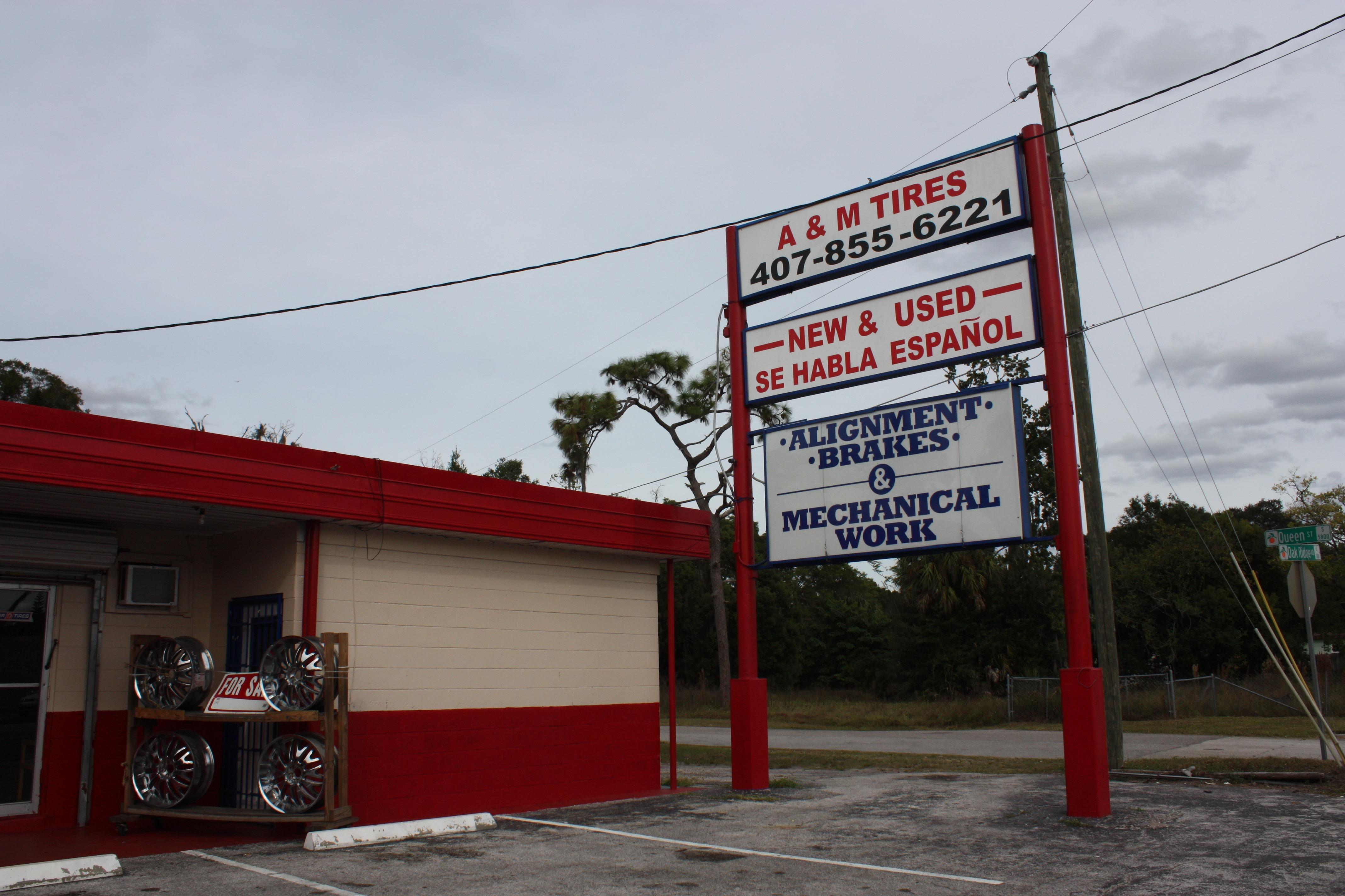 Used Tires Orlando Fl Pine Hills Fl Two Guys Tires And Auto >> A M Tires 101 W Oak Ridge Rd Orlando Fl 32809 Yp Com