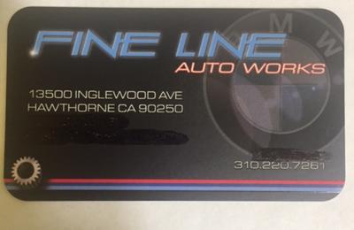 Fine Line Auto Works - Hawthorne, CA