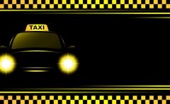 Dulles Express cab