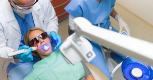 Most cosmetic dental work can be completed in one session.