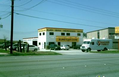 Euro Car Care Inc 12323 West Ave San Antonio Tx 78216 Yp Com