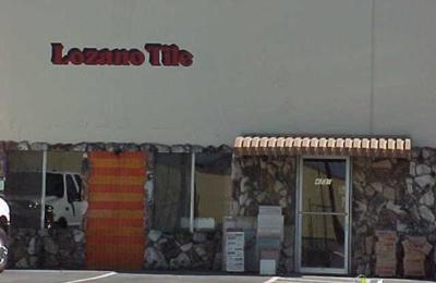 Lozano Tile Incorporated - Fairfield, CA