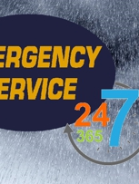 Emergency Service Available 24/7
