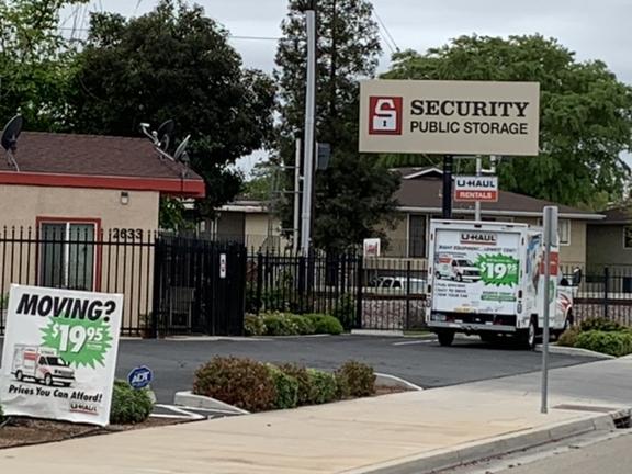 Security Public Storage - Fresno, CA