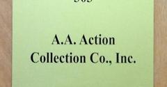 A A Action Collection Co Inc - Florham Park, NJ. Since 1954