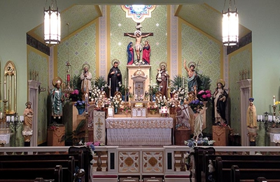 Our Lady Of The Pillar Chapel & St James Academy - Louisville, KY
