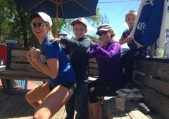 Nuevo Laredo Cantina - Atlanta, GA. Fun, sunny times on the front deck!
