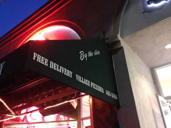 Village Pizzeria - Los Angeles, CA. Free delivery!