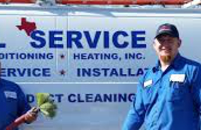 All Service Air Conditioning & Heating - Schertz, TX