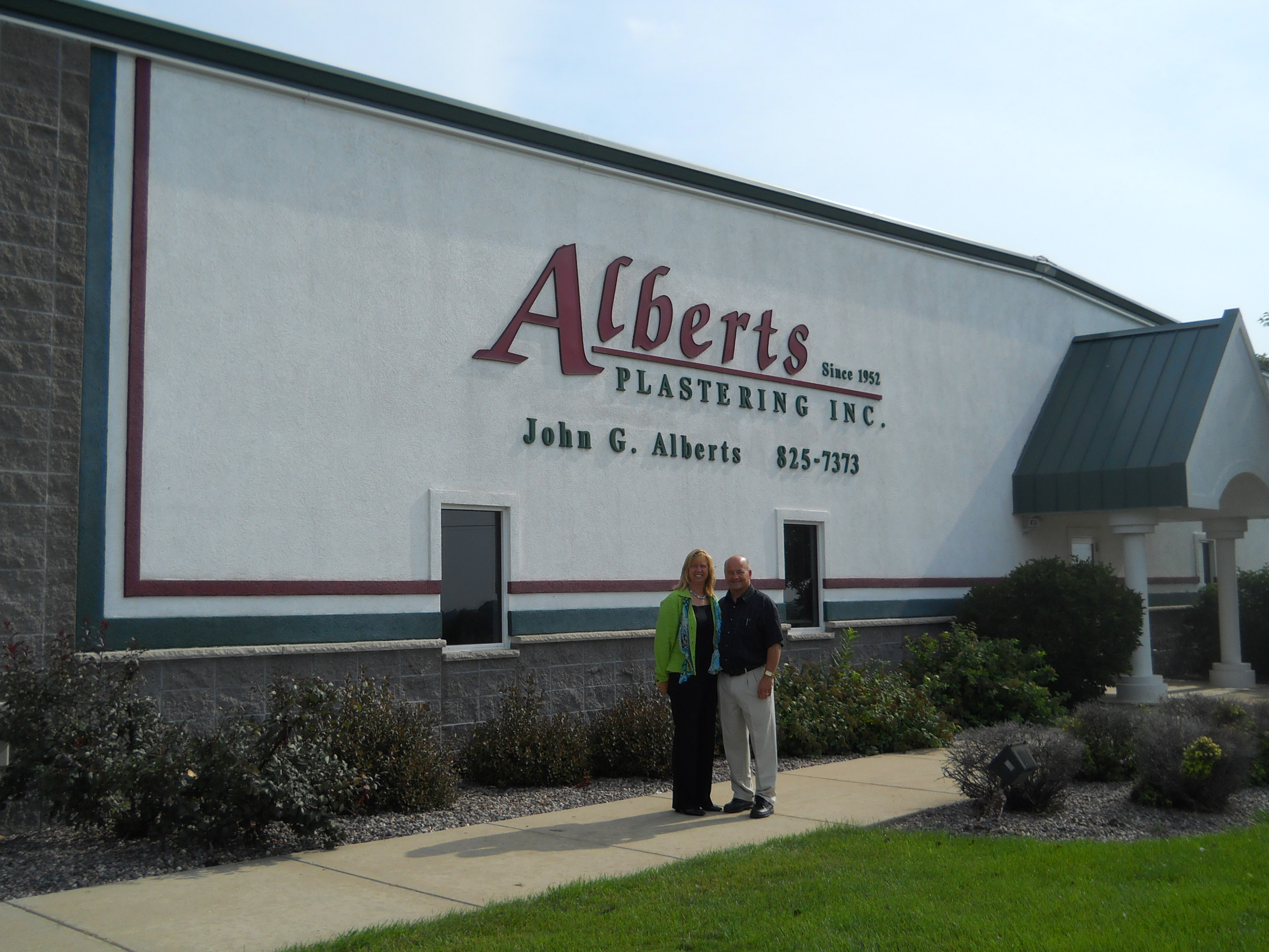 Alberts Plastering Inc 1610 Orchard View Ln, Brussels, WI 54204 - YP.com