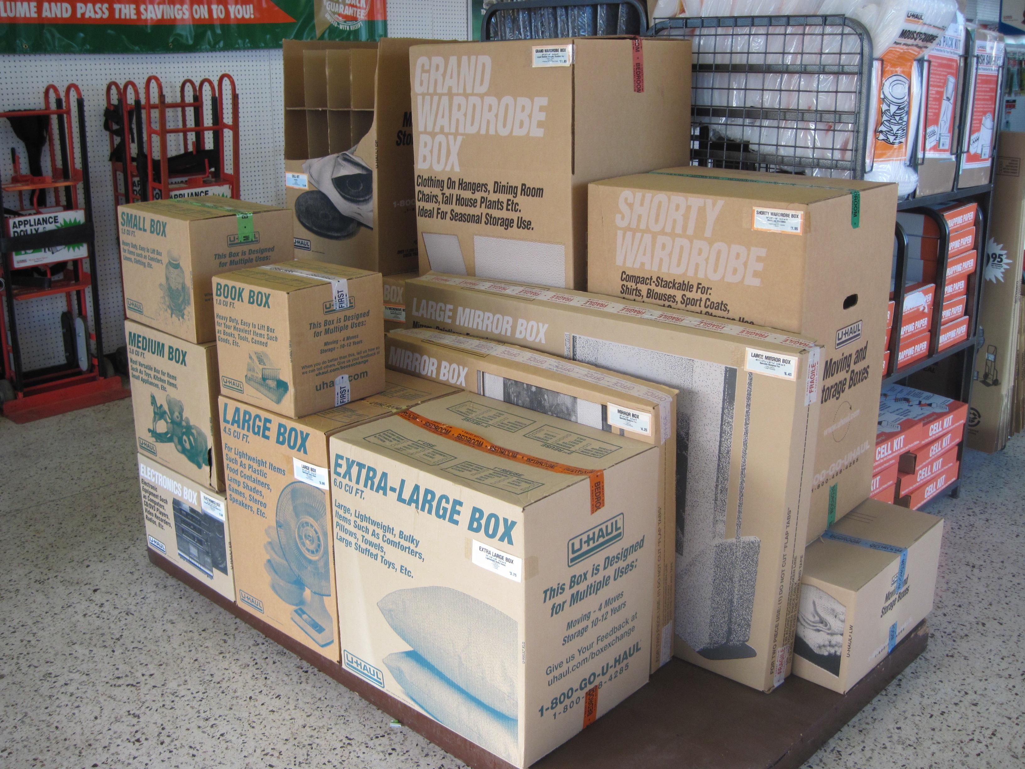 U Haul Moving & Storage of W Greenville 1406 Grove Rd Greenville