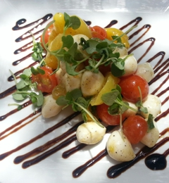 Wine Country Trattoria - Anaheim, CA. Delicious caprese salad! As good as it looks!