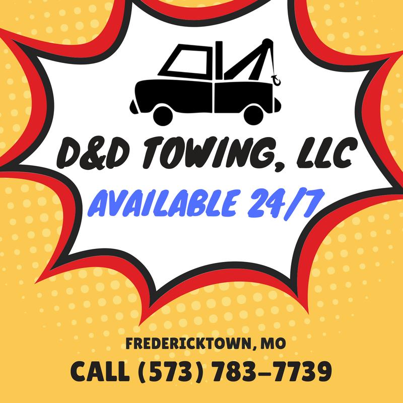 D & D Towing >> D D Towing 1338 Business Highway 67 Fredericktown Mo