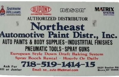 Northeast Automotive Paint Distrbtr Inc - Bronx, NY